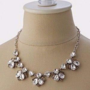 stella & dot ~ lila crystal statement necklace
